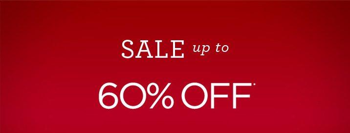 Sale Up To 60% Off* Shop Sale
