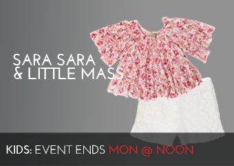 SARA SARA LITTLE MASS