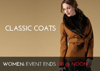 CLASSIC COATS - Women