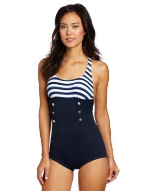 Seafolly <br/>Seaview Boyleg Maillot
