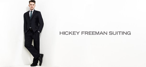 HICKEY FREEMAN SUITING, Event Ends January 14, 9:00 AM PT >