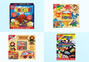 Boys will be Boys: Animal Sets, Puzzles & More