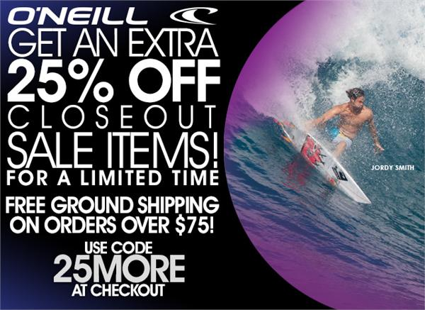 Free Ground Shipping on orders over $75!