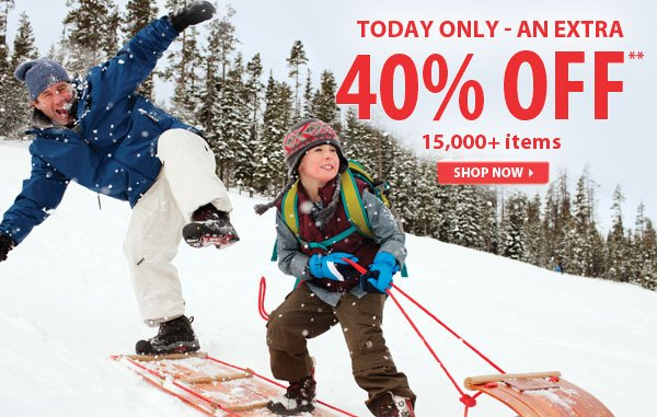 Today Only - Top Secret Sale! An Extra 40% OFF over 15,000 Items!