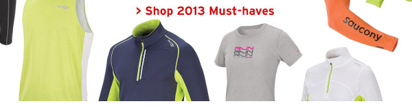 Shop 2013 Must-haves