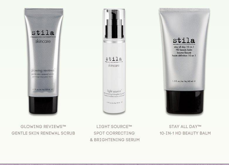stila's best skincare products