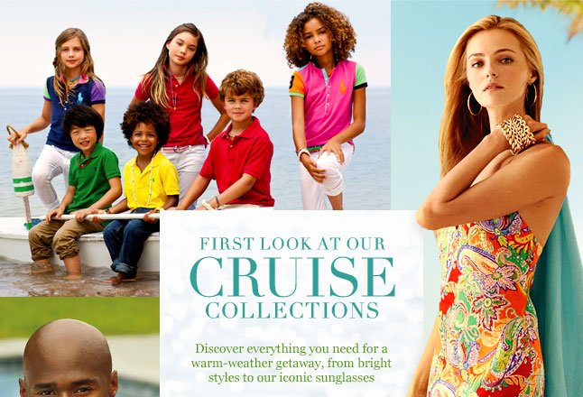First Look At Our Cruise Collections