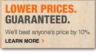 LOWER PRICES. GUARANTEED. We'll beat anyone's price by 10%. Learn More >