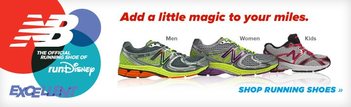 Add a little magic to your miles. Shop running shoes.