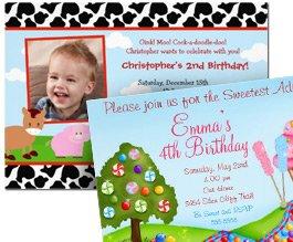 40% Off Select Birthday Invites