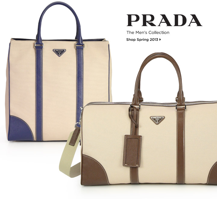 Shop the Prada Spring 2013 Men's Collection