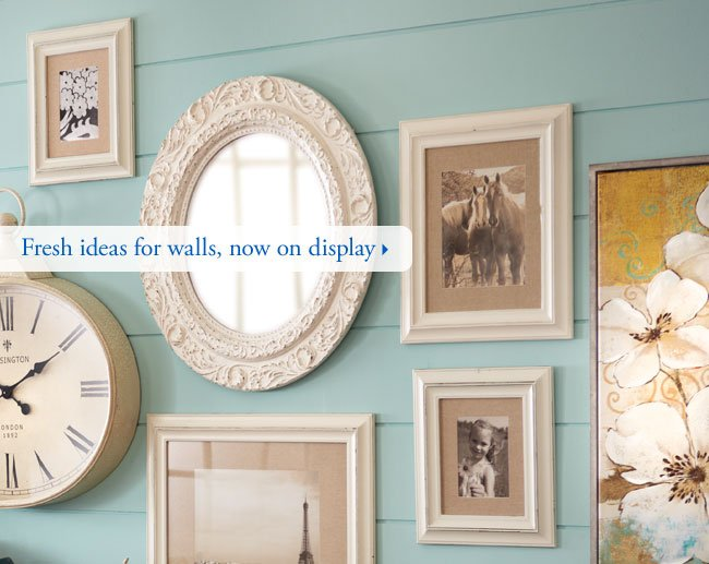 Fresh ideas for walls, now on display