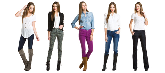 Perfectly Paired:Women's Boots & Denim