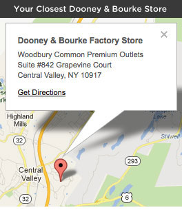 Your Closest Dooney & Bourke Store