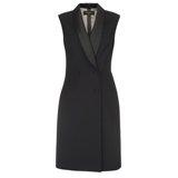 Paul Smith Dresses - Black Sleeveless Tuxedo Dress