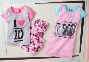 One Direction Sleepwear
