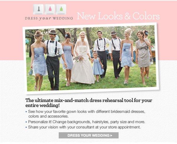DRESS YOUR WEDDING