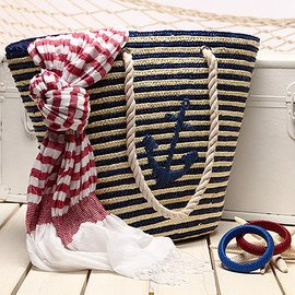 Nod to Nautical: Handbags & Accessories