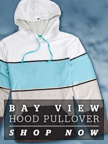 Bay View Hood Pull Over