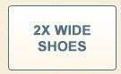 2X Wide Shoes