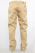 <b>Dickies</b><br />The Slim Straight Work Pants in Khaki