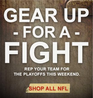 Gear up for a fight. Shop all NFL.