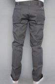 <b>Dickies</b><br />The Slim Straight Work Pants in Charcoal