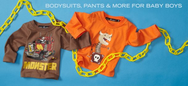 BODYSUITS, PANTS & MORE FOR BABY BOYS, Event Ends January 16, 9:00 AM PT >