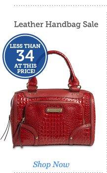 Leather Handbag Sale
