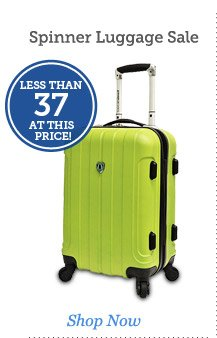 Spinner Luggage Sale