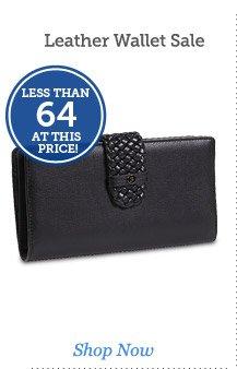 Leather Wallet Sale