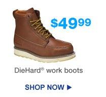 $49.99 DieHard® work boots | Shop Now
