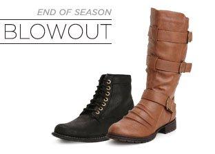 End of Season Blowout: Shoes