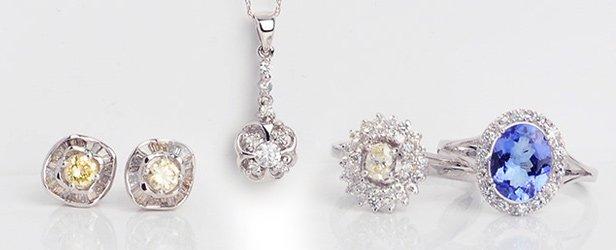 White Gold Jewelry Blowout