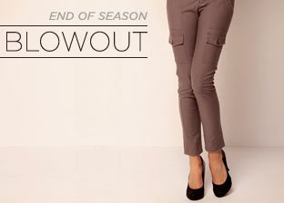 End of Season Blowout: Bottoms for Her