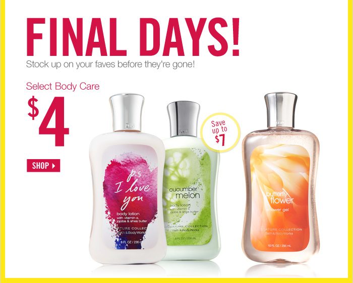 Select Body Care - $4