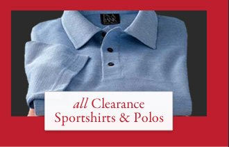 All Clearance Sportshirts & Polos