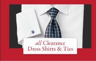 All Clearance Dress Shirts & Ties