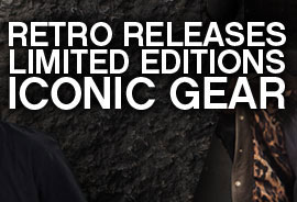 Retro Releases Limited Editions Iconic Gear
