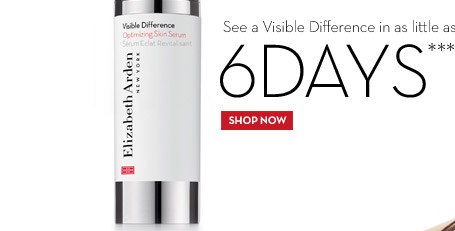 See a Visible Difference in as little as 6 DAYS*** Visible Difference Optimizing Skin Serum. SHOP NOW.