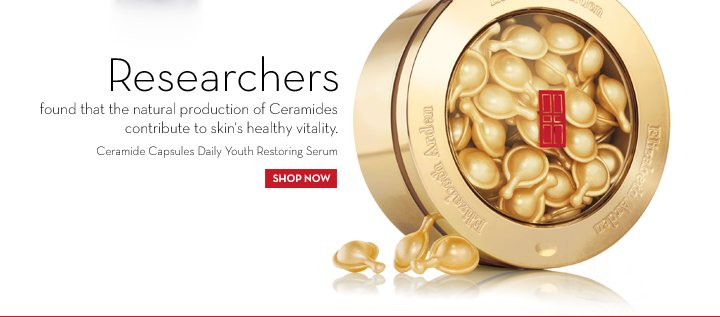 Researchers found that the natural production of Ceramides contribute to skin's healthy vitality. Ceramide Capsules Daily Youth Restoring Serum. SHOP NOW.