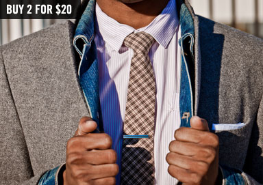 Shop Bold New Ties by Bibas