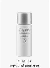 top-rated sunscreen | Shiseido