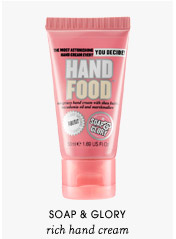 rich hand cream   Soap & Glory