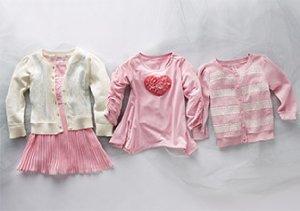 Cardigans, Leggings & More for Baby Girls