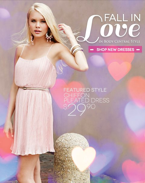 Fall in Love with Body Central Style - Shop New Spring Dresses