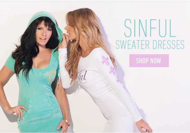 Sinful Sweater Dresses