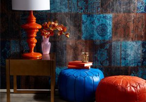 Burst of Color: Rugs, Lamps & More