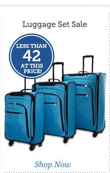 Luggage Set Sale