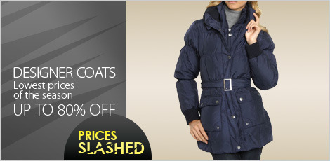 Designer Coats - Lowest price of the season